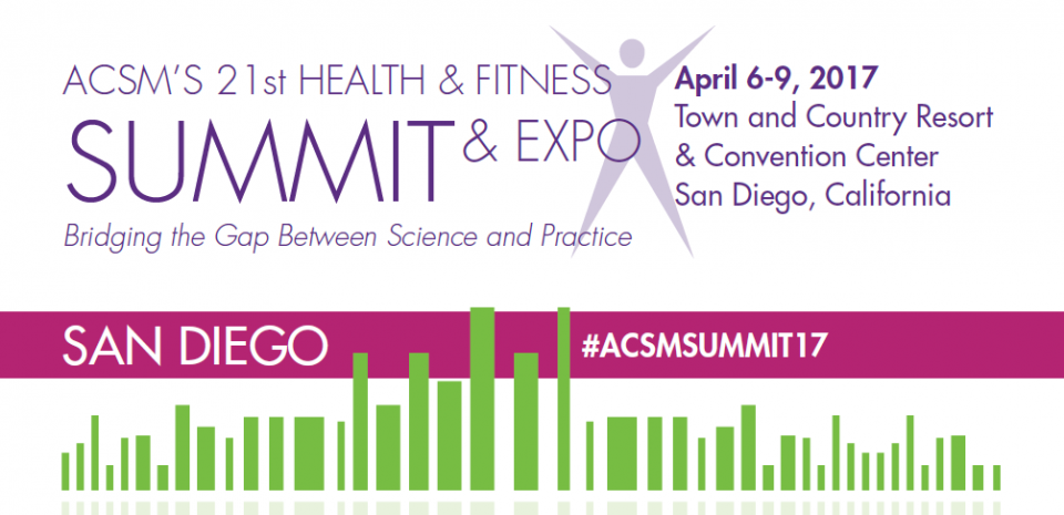 ACSM's 2017 Health & Fitness Summit Online CEC: Workshop: Teach, Learn, and Communicate!
