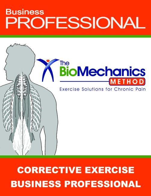 TBMM Corrective Exercise Business Professional Course